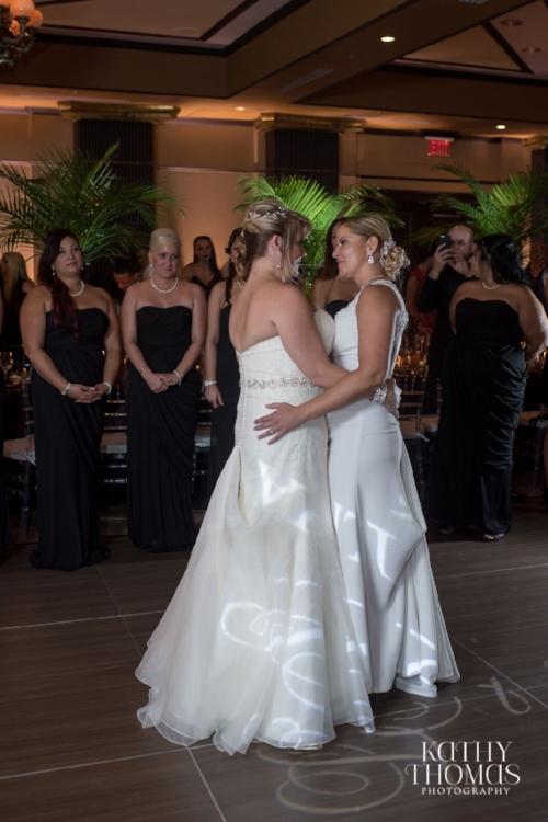 Lisa Stoner Events - Luxury Weddings - Orlando Weddings - Grand Bohemian Hotel - black tie wedding - same sex wedding - Marriage Equality  - Wedding Planner - plum and grey wedding - first fance - two brides.jpg