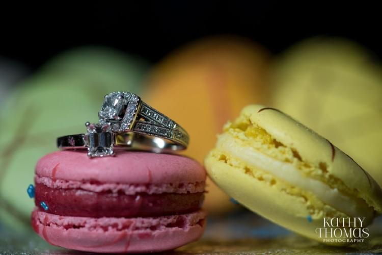 Lisa Stoner Events - Luxury Weddings - Orlando Weddings - Grand Bohemian Hotel - black tie wedding - same sex wedding - Marriage Equality  - Wedding Planner - plum and grey wedding - unique wedding ring pictures - French Macrons .jpg