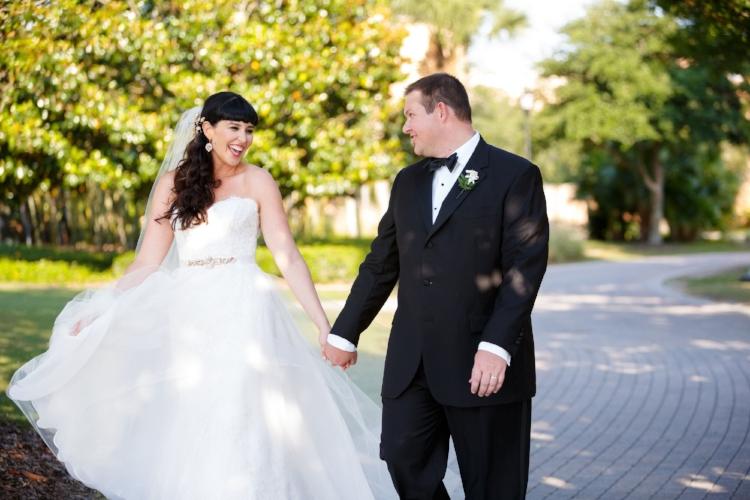 lisa stoner events- orlando luxury wedding planner- central florida weddings - Ines Desanto Gowns - wedding portraits - bride and groom - sweetheart neckline- lace wedding gown - A line wedding gown.jpg