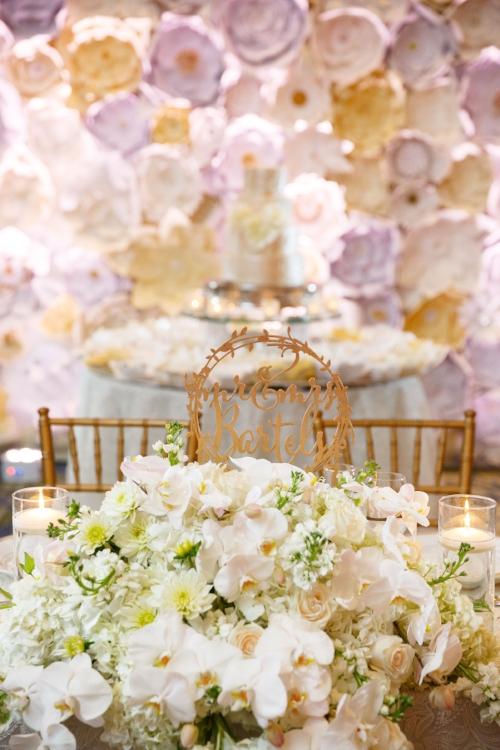 lisa stoner events- orlando wedding planner - ritz carlton wedding reception- paper flower wall - sweetheart table .jpg