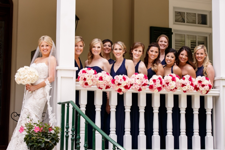 lisa stoner events- lisa stoner weddings- orlando luxury wedding planner- central florida elegant weddings - orlando private residence wedding - bride with bridesmaids.jpg