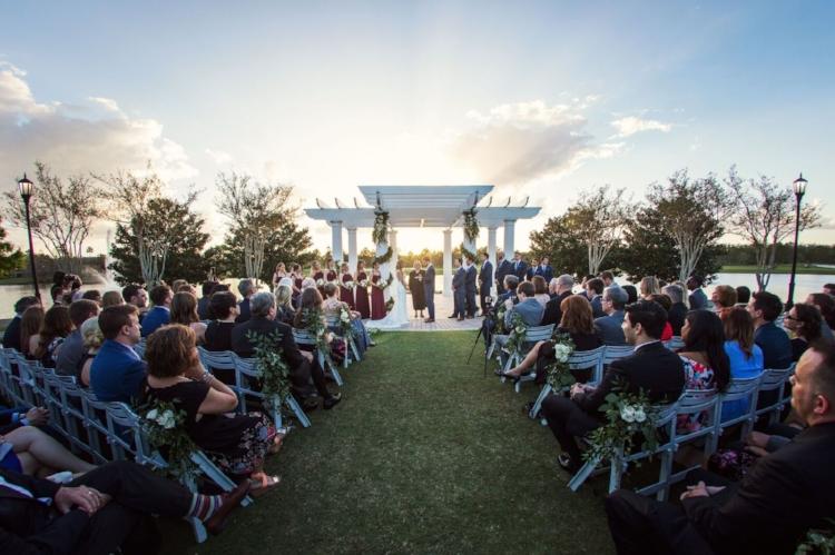 lisa stoner event planning- orlando luxury weddings- orlando outdoor wedding ceremony- rit carlton orlando sunset wedding ceremony - sunset wedding ceremony.jpg