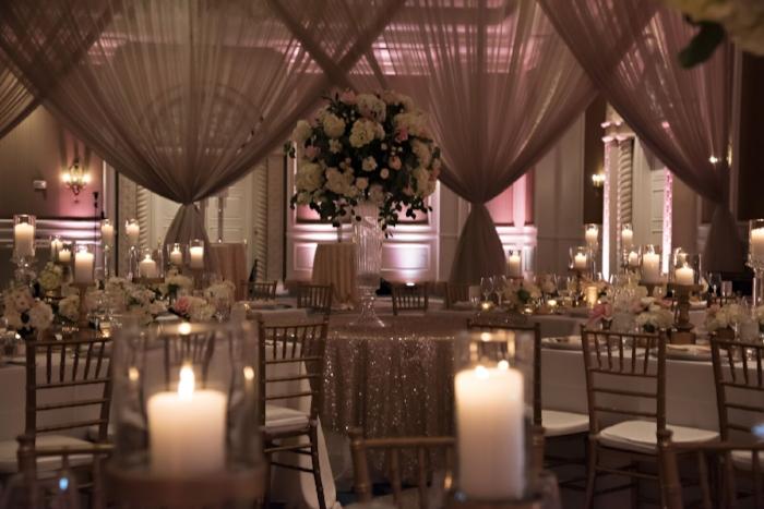 lisa stoner events- ritz carlton wedding reception - luxury central flroda wedding planner- luxury florida wedding planner - pink and white wedding reception- wedding draping - chic wedding reception in orlando.jpg