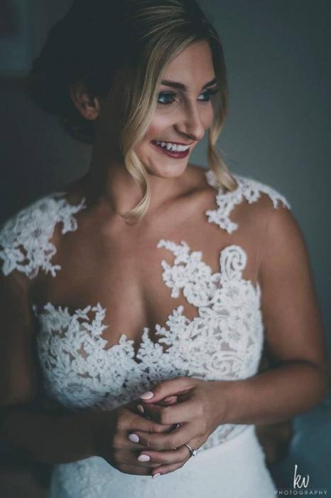 lisa stoner wdding - stylish orlando wedding- pronovias gowns - Chantilly lace- illusion nexkline- orlando wedding planner.jpg
