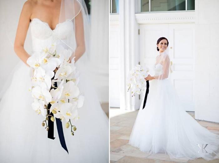 lisa stoner weddings- orlando wedding planner- romona keveza gown - tulle ballgown - white orchid bridal bouquet - orlando wedding.jpg