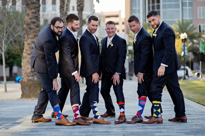 orlando wedding planner- lisa stoner- groom- groomsmen - wedding party- wedding socks- unique groomsmen gifts - central florida weddings.jpg