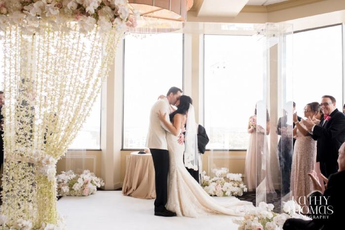 lisa stoner events- jewish weddings in orlando- citrus club jewish wedding- chuppah - first kiss - unique chuppahs - mazel tov.jpg