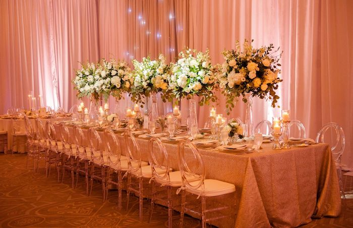 Lisa Stoner Events - Winter Park Wedding - Central Florida Luxury Wedding - Alfond Inn - Abby Liga Photography - pink draping for wedding - long reception tables.jpg