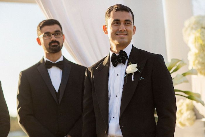 Lisa Stoner Events- Lisa Stoner – Ritz Carlton Orlando- Orlando luxury wedding- multicultural wedding – Best wedding planner in Orlando-groom waiting for bride.jpg
