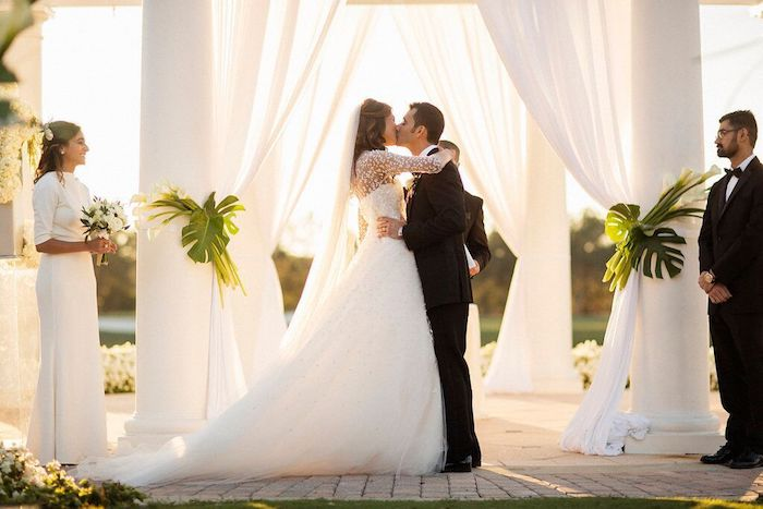 Lisa Stoner Events- Lisa Stoner – Ritz Carlton Orlando- Orlando luxury wedding- multicultural wedding – Best wedding planner in Orlando-first kiss.jpg