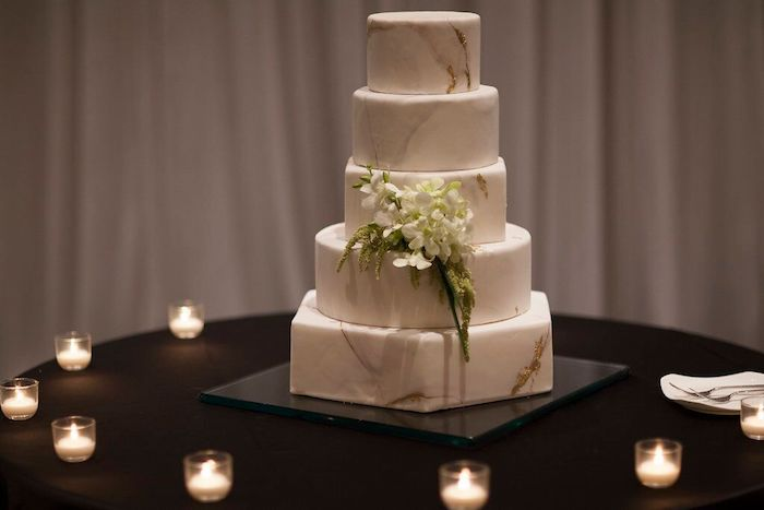 Lisa Stoner Events- Lisa Stoner – Ritz Carlton Orlando- Orlando luxury wedding- multicultural wedding – Best wedding planner in Orlando-marble wedding cake.jpg