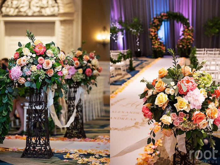 Lisa Stoner Events- Orlando Luxury Wedding Planner- Ritz Carlton Orlando – Ritz Carlton Wedding -aisle decor.jpg