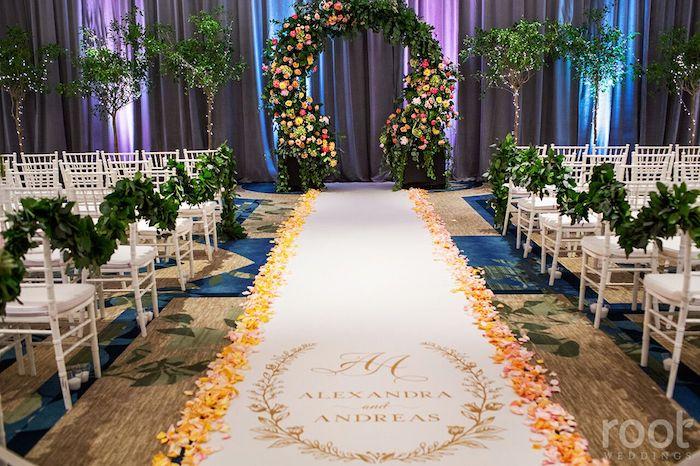 Lisa Stoner Events- Orlando Luxury Wedding Planner- Ritz Carlton Orlando – Ritz Carlton Wedding - aisle decor- custom aisle runner.jpg