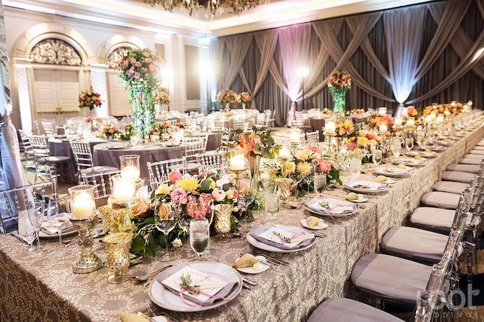 Lisa Stoner Events- Orlando Luxury Wedding Planner- Ritz Carlton Orlando – Ritz Carlton Wedding - colorful wedding recpetion - feast table.jpg