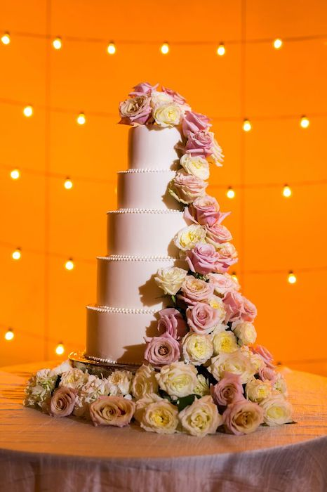 22-Lisa Stoner Events- Ritz Carlton Orlando – Orlando luxury wedding planner – Ritz Carlton Orlando wedding-white wedding cake.jpg