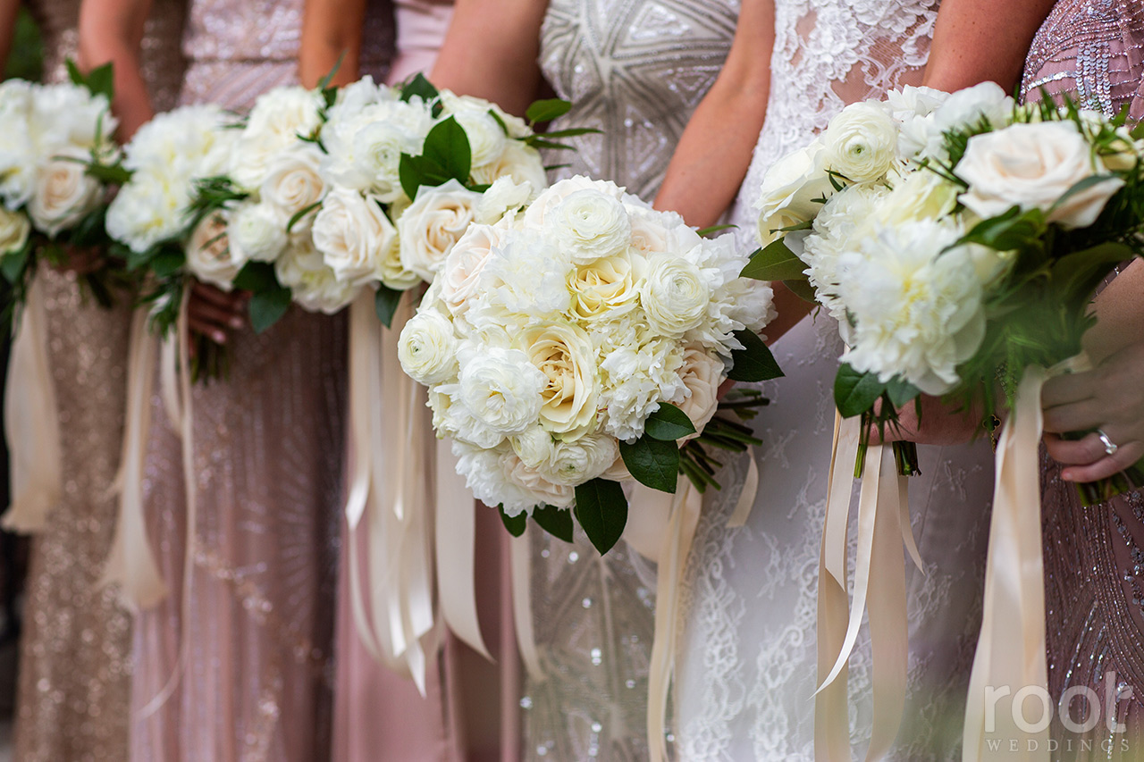 Lisa Stoner + White Bridesmaids Bouquets + Root Photography Alfond Inn - 027.jpg