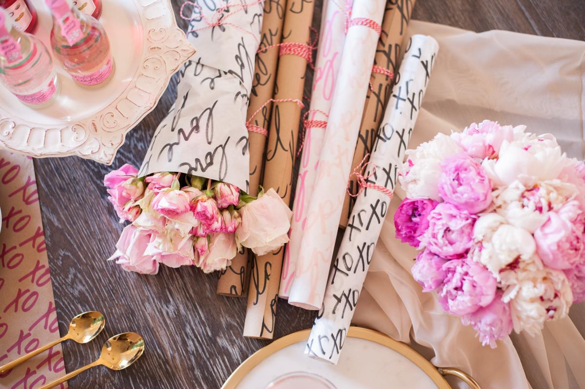 Valentine's Day Inspiration + Lisa Stoner + Abby Liga +Ashton Ink