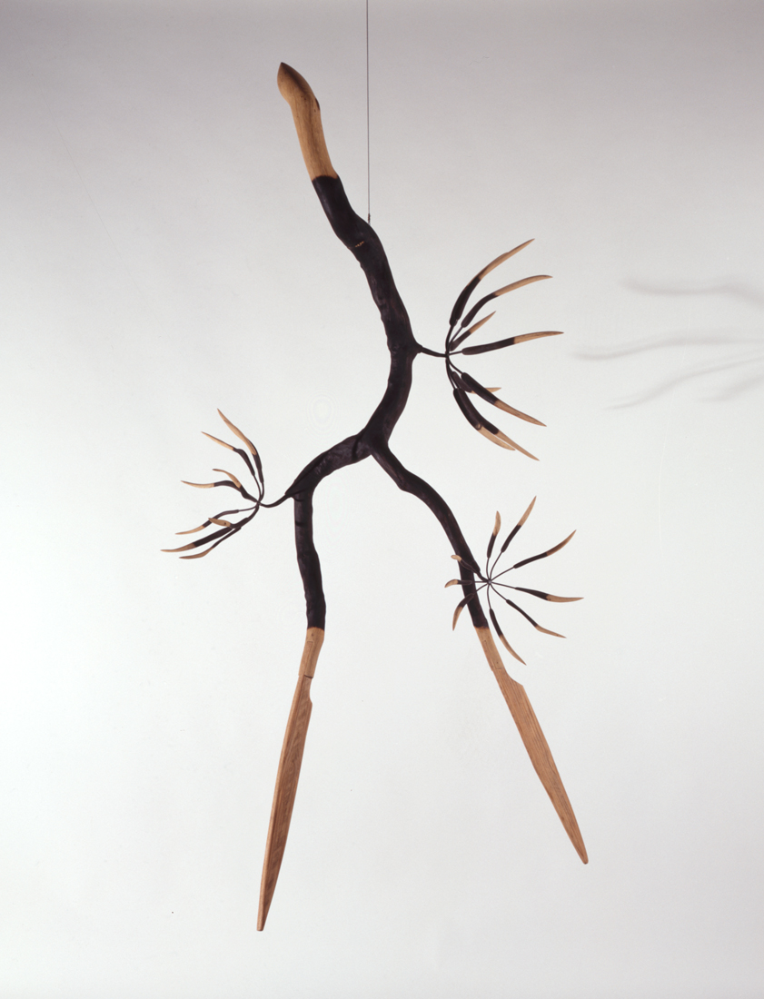 Dancing Man with Three Flowers, 1993