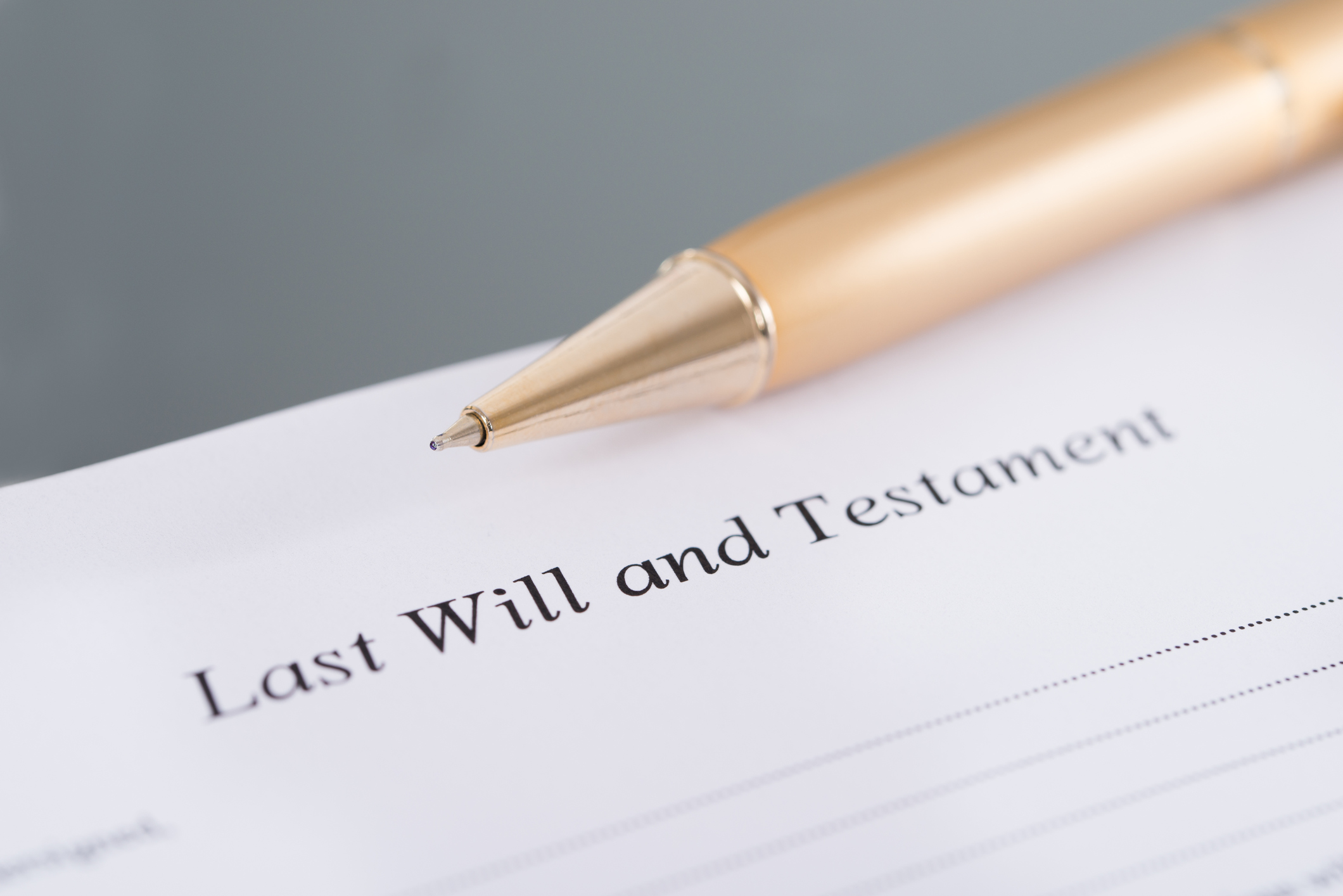 The probate process is court-supervised. If a person dies with a valid will, the proceeding is called   Testate  . If the person dies without a valid will, the proceeding is   Intestate   and in that case the State of Florida determines who inherits the property.