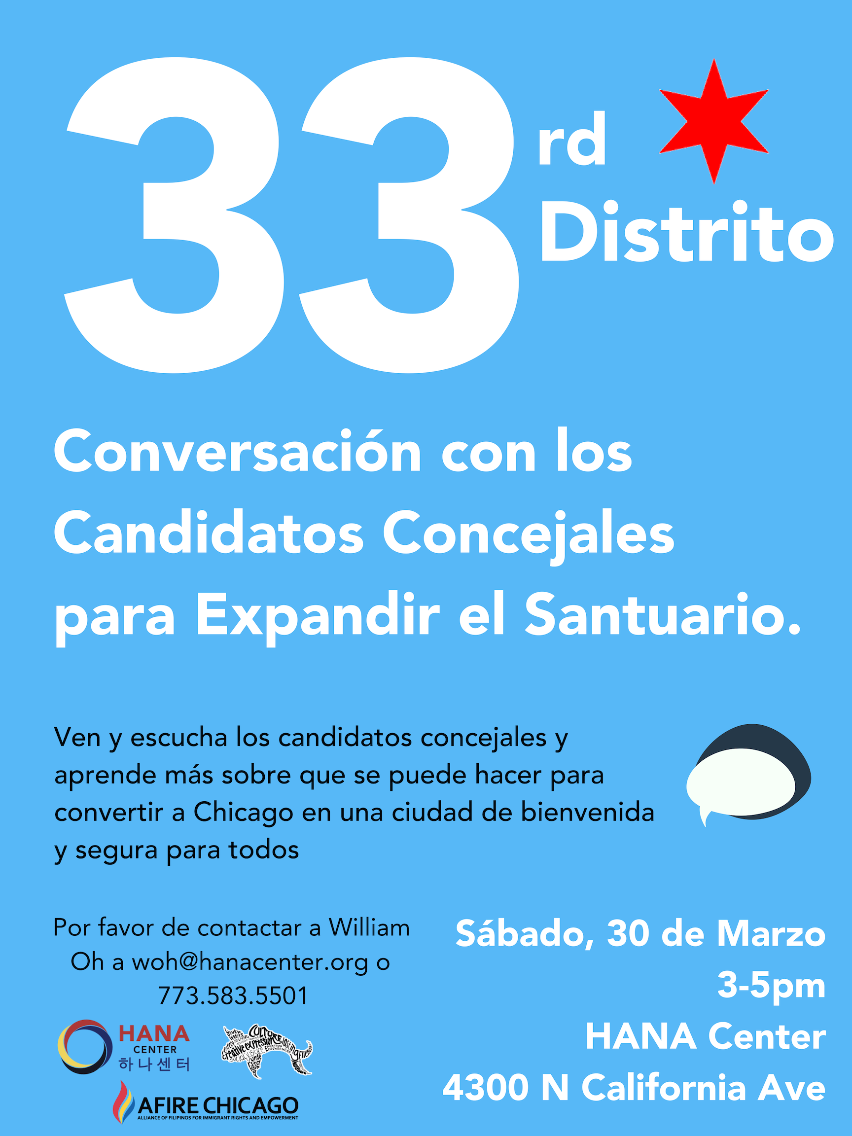 33rd Ward Community Forum Flyer_Spanish.png