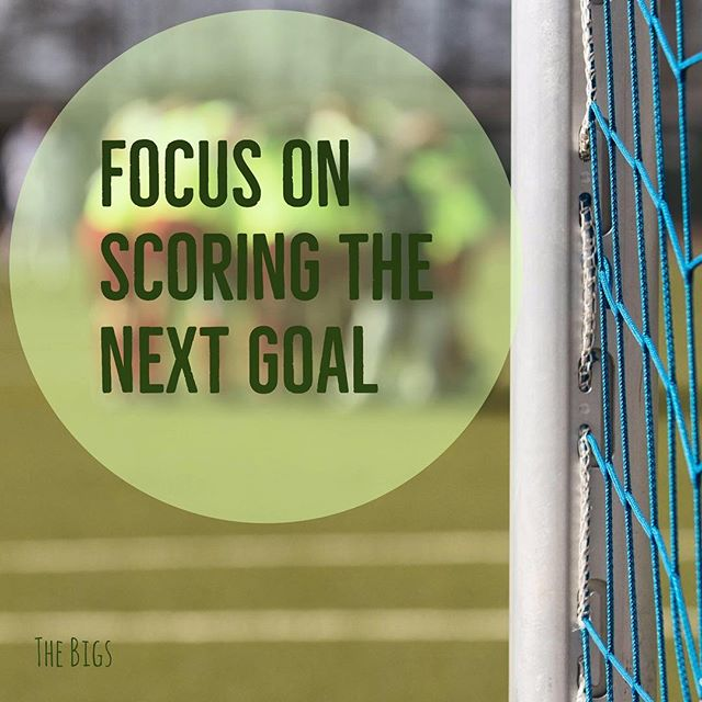 """In your job search, as in sports, you need to focus on scoring the next goal and not worry about winning the game."" - Ben Carpenter, founder of The Bigs Project #TipTuesday #jobsearch #careeradvice"