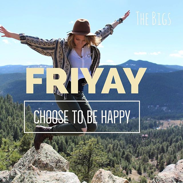 """""""Choose #happiness by consciously shortening the amount of time you allow yourself to be upset. If you start today, and do it as often as possible, it will transform your life—both personally and professionally."""" - Ben Carpenter, Founder of The Bigs."""" To learn more about bringing The Bigs to your school or organization contact us! info@thebigsproject.com #FriYAY #careerexploration #professionaldevelopment"""