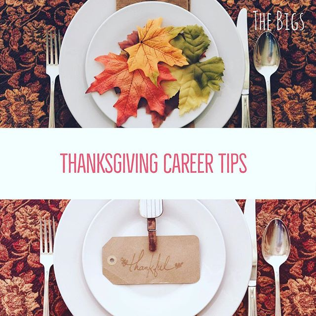 #Thanksgiving is approaching. It's a great time to get together with family and friends AND for #networking! While your passing the turkey, find out more about what your extended family members do  and the skills they needed to be successful.