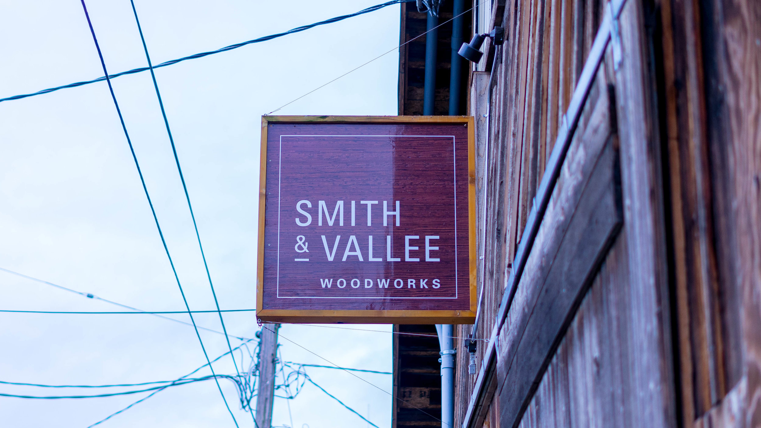 Smith & Vallee Woodworks located in Bow, Washington.