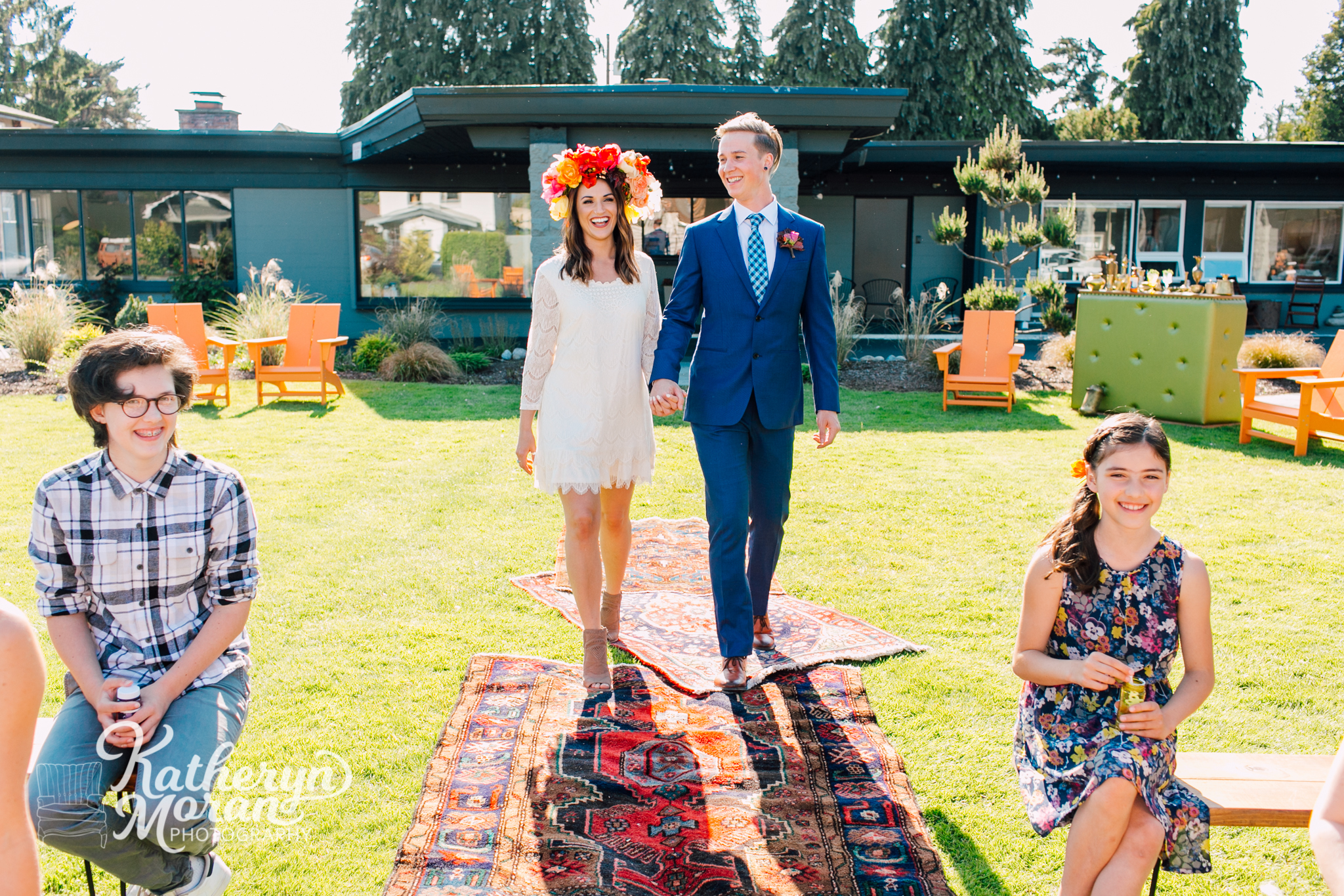 Walk down the aisle at The Heliotrope Hotel