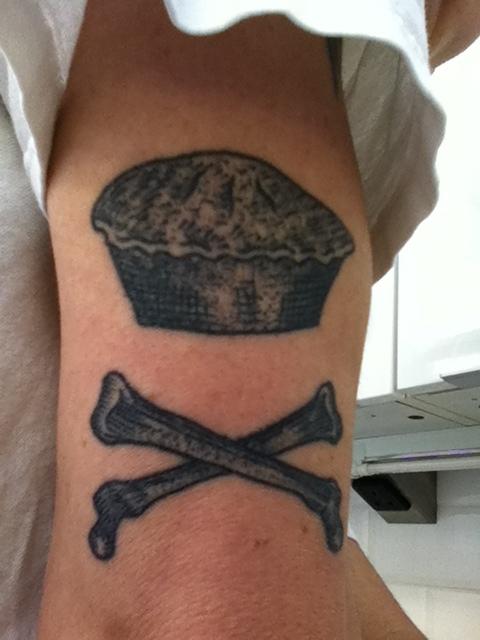 The tattoo.