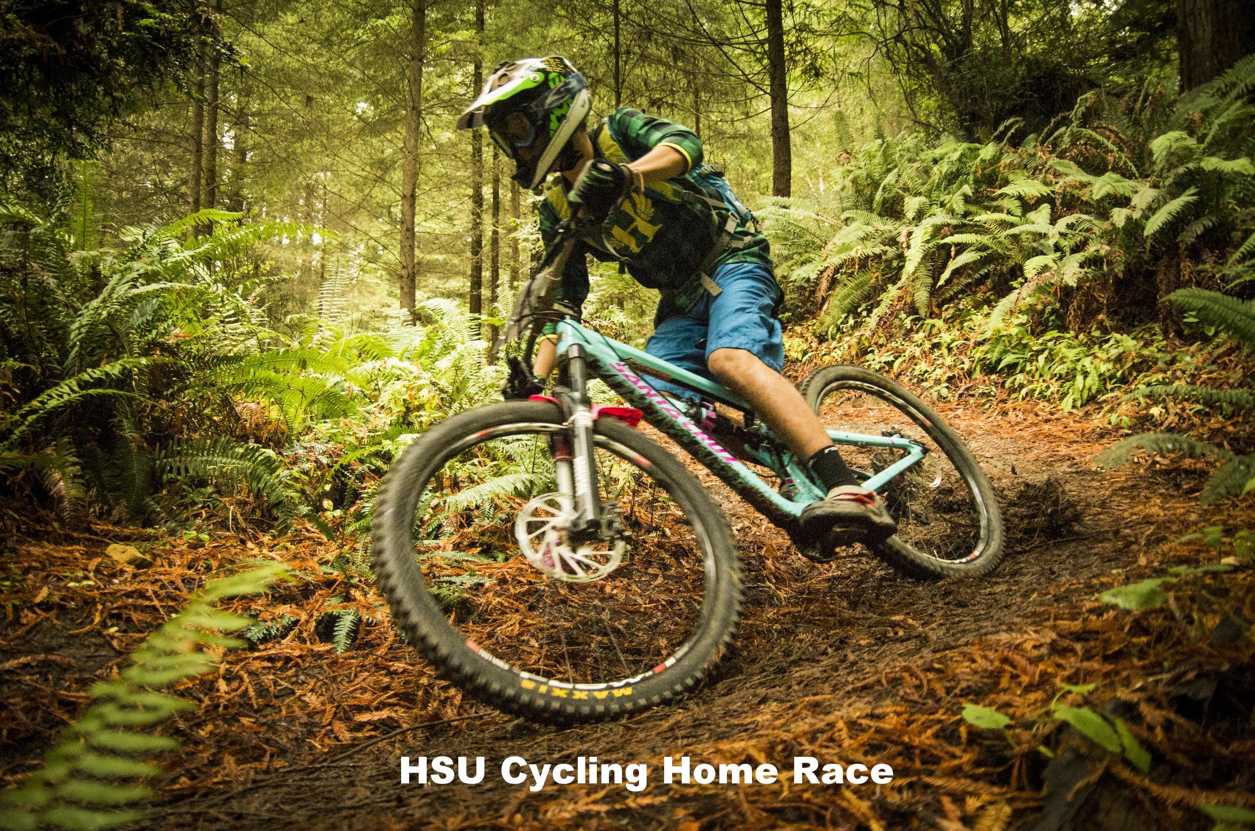 HSU Cycling Mountain Bike Race