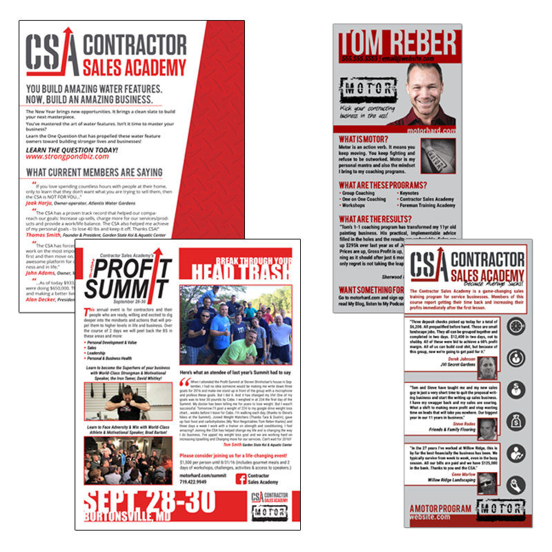 Contractor Sales Academy - A sales training program designed to help contractors get back their time and make more money.