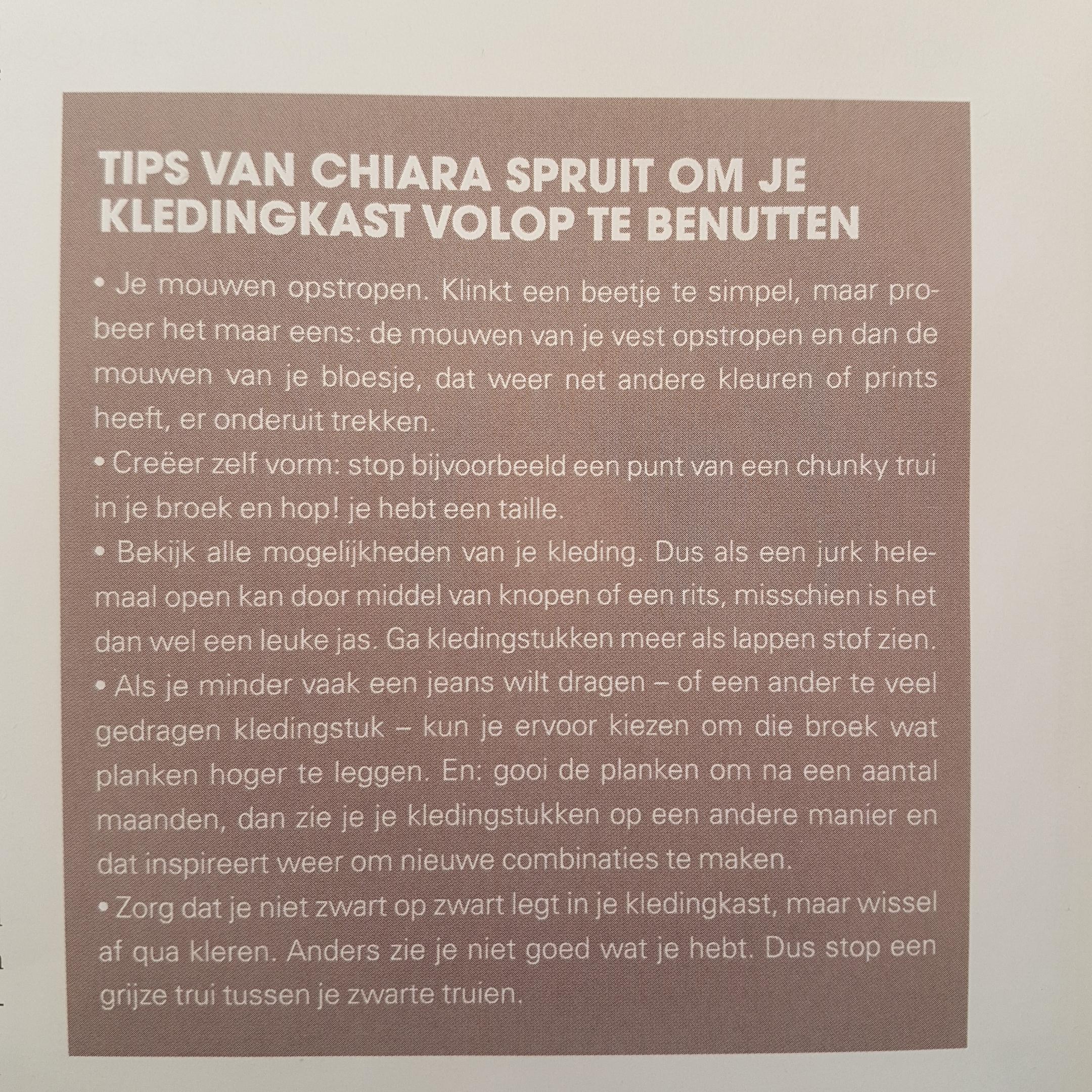 geschreven door Aaf Brandt Corstius voor Jan magazine
