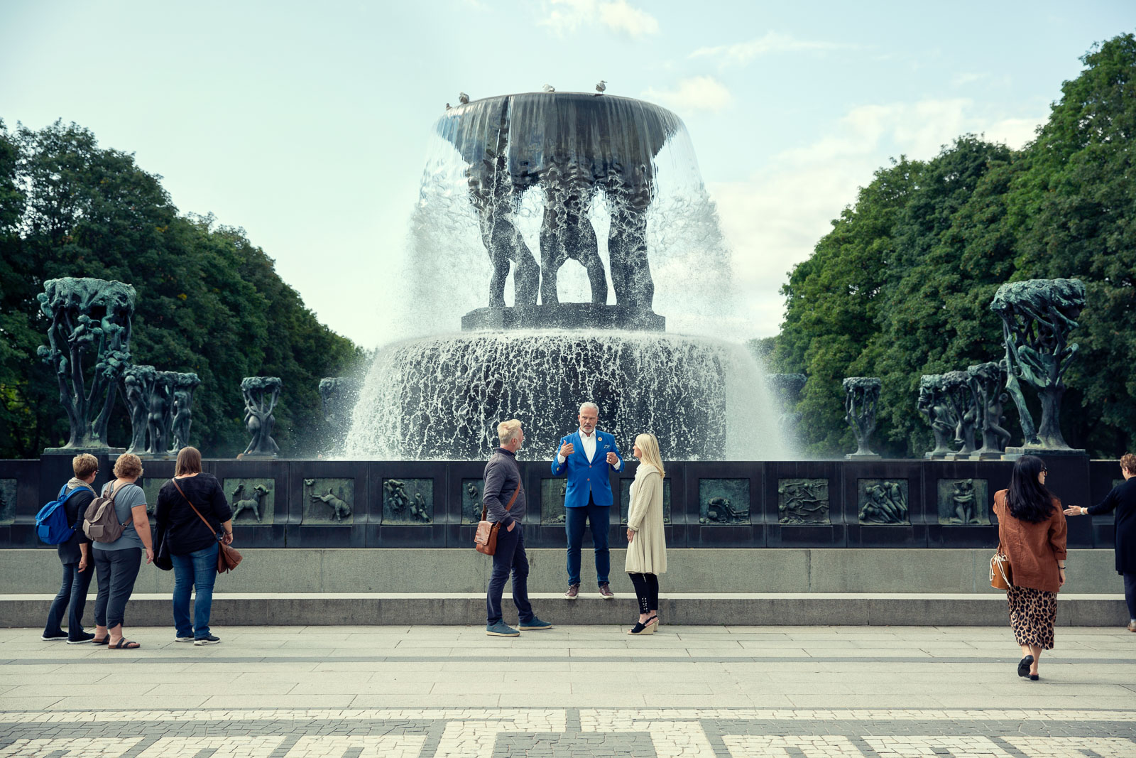 The Fountain  - Photo: Live – Private Guided Tours / The Vigeland Museum