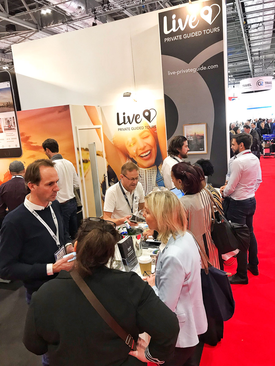 Live at the November 5th launch during the World Travel Market 2018 in London