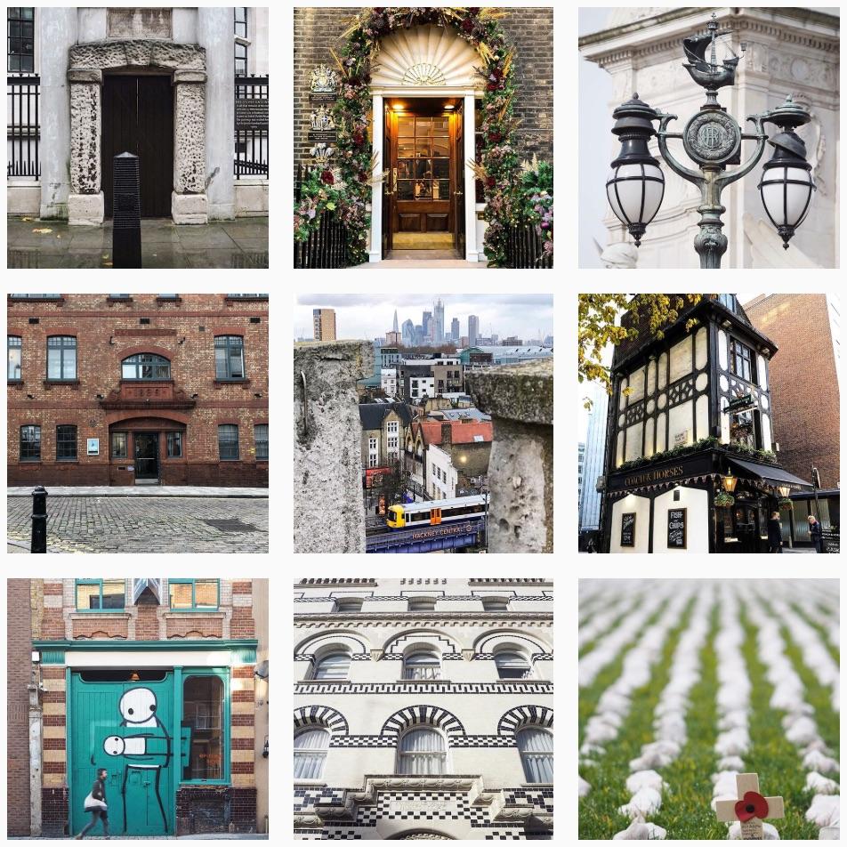 Photos from Katie's highly popular Instagram profile    @look_uplondon