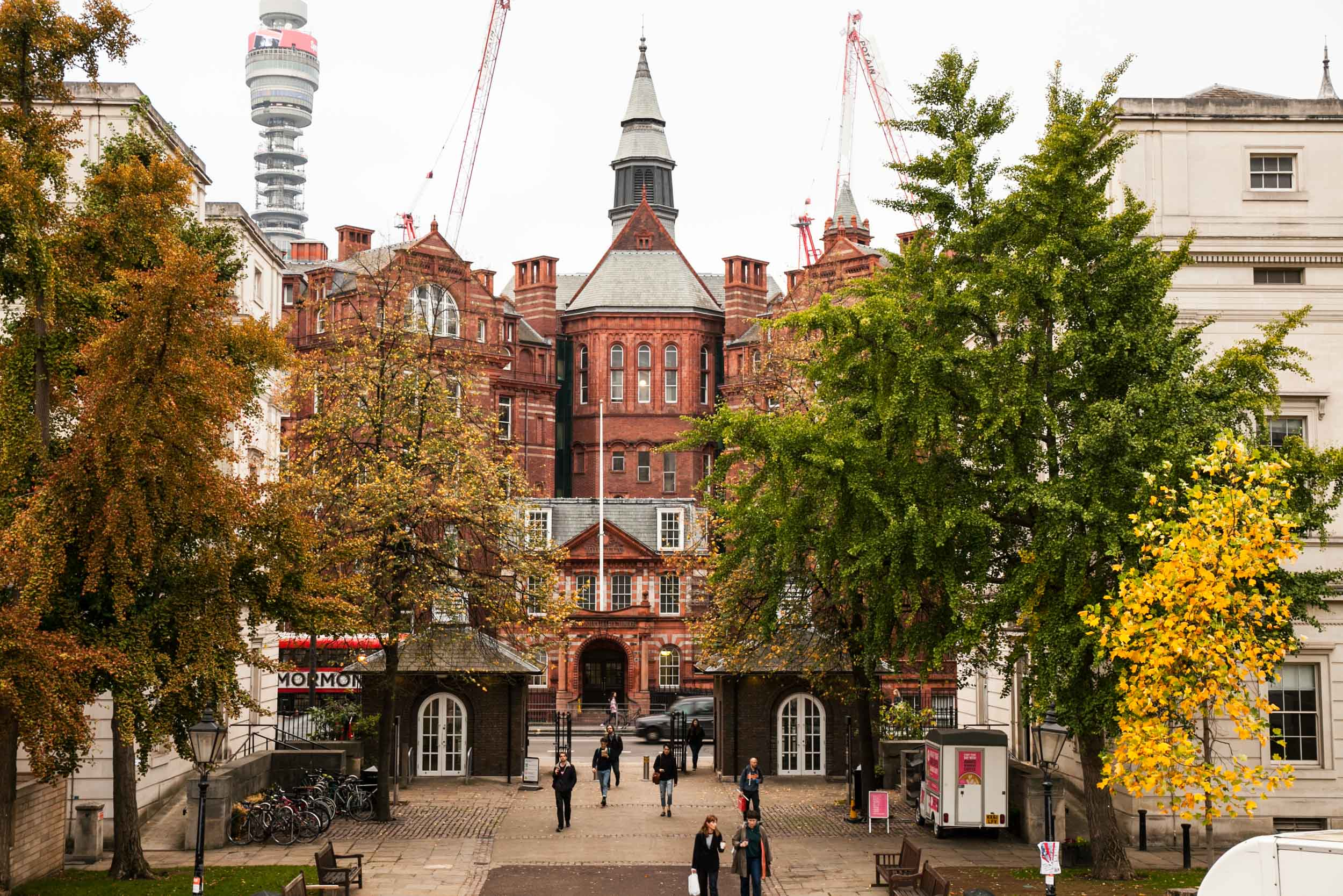 Bloomsbury gave its name to the Bloomsbury group, and we will be walking in the footsteps of some of its members, such as Virginia Woolf.
