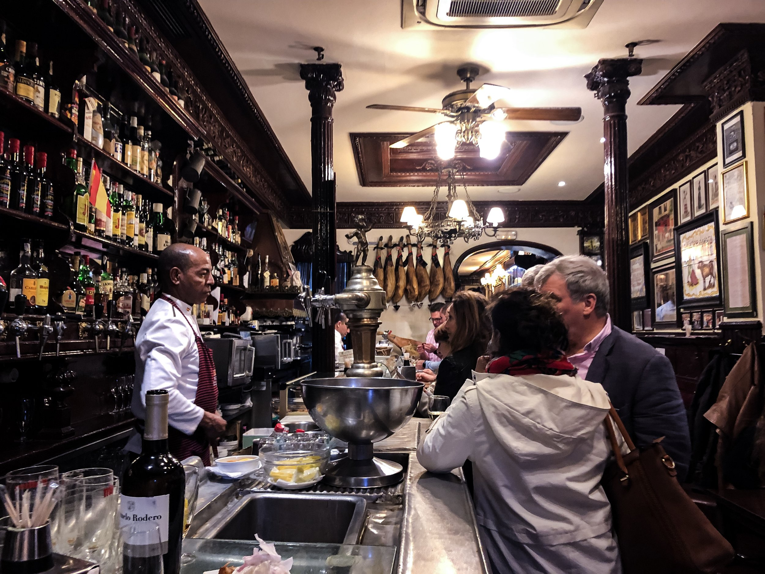Enjoy some excellent tapas in the atmospheric bar at Casa Alberto. This old taberna has been around since 1827.  Photo: Alex Vasey/Unsplash