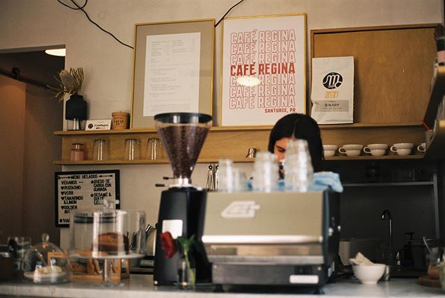 the best 🥑 toast and cashew milk latte in San Juan 🇵🇷☕️ . . . #cassidychreenephoto #sanjuan #condado #puertorico #discoverpuertorico #coffeeshop #avocadotoast #canonae1 #canon #kodakcolorplus200 #filmisnotdead #filmphotography #filmphotographyproject