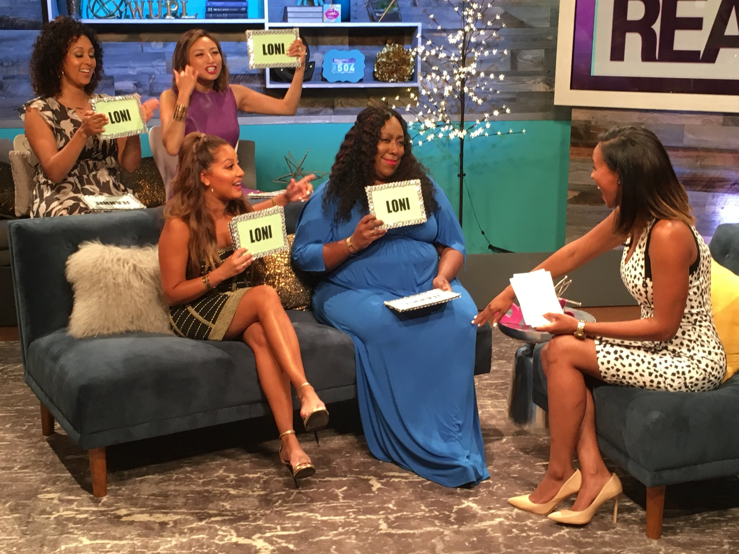 "The Hosts of the Daytime Talk Show ""The Real"" (2016)"