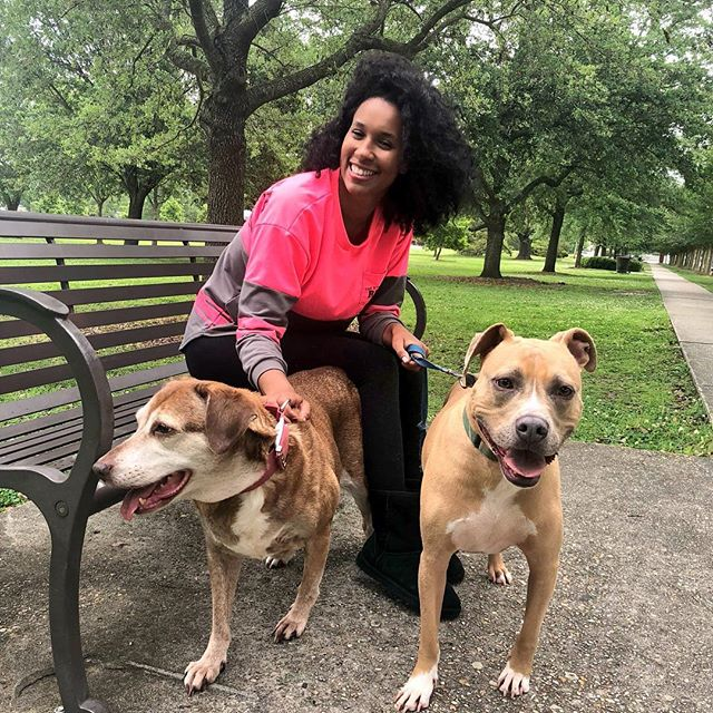 ‪nationalpetday and my babies are on TV today! Sam and Fifi 😍 Meet our Eyewitness Morning Pets during the 6:30 half hour on @WWLTV #channel4 ‬#bebeskids