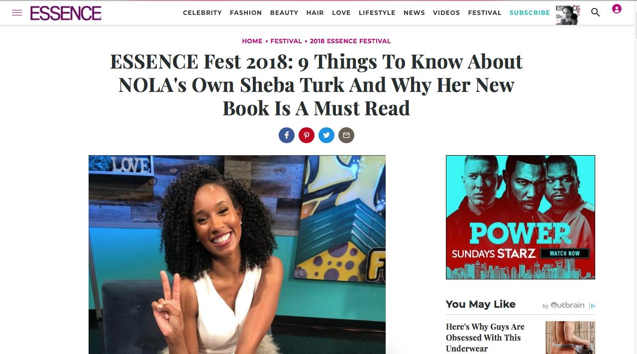 Essence.com 2018