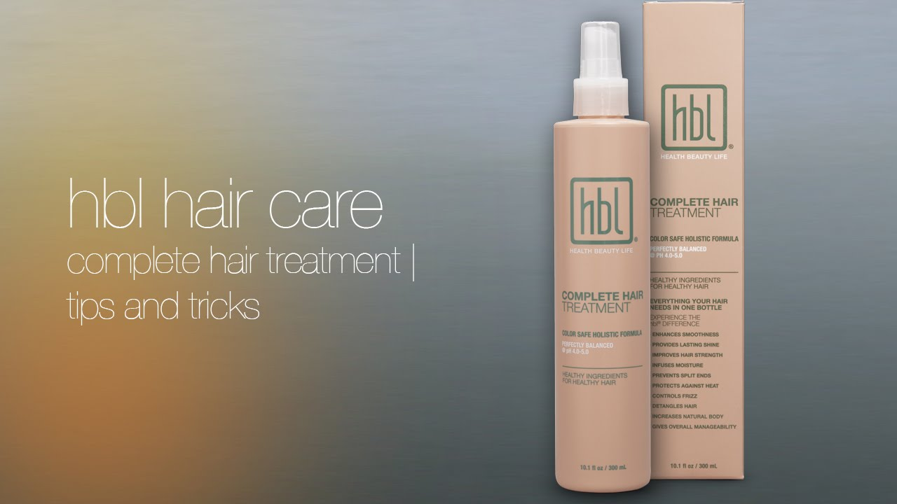 hbl Hair Care - All hbl® products are pH balanced to work with your body's natural acid mantel balance, your body's first line of defense. Due to a low and balanced pH, hbl® shampoos gently cleanse without opening the cuticle, stripping color, or damaging fragile hair while deeply restorative conditioners and treatments soothe and soften hair leaving your strands shiny and touch-ably silky.