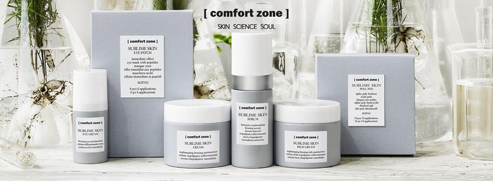[ comfort zone ] - The comfort zone mission is to promote a holistic, soulful, healthy and sustainable lifestyle, with advanced science-based conscious solutionsto visibly improve skin, body and mind. With certified organic and natural products, as well as their participation as a B Corp they provide skincare that's effective, conscientious and sustainable. Good for the planet as well as the soul.