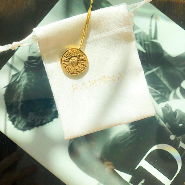 Zodiac sign 18k gold vermeil pendent with gold-filled chain. What's your sign ? 🖤 . . . . . . . . . . #zodiacsigns #goldfilled #jewelery #falltrends2019 #newpiece #starsigns #astrology #zodiacsignjewelery