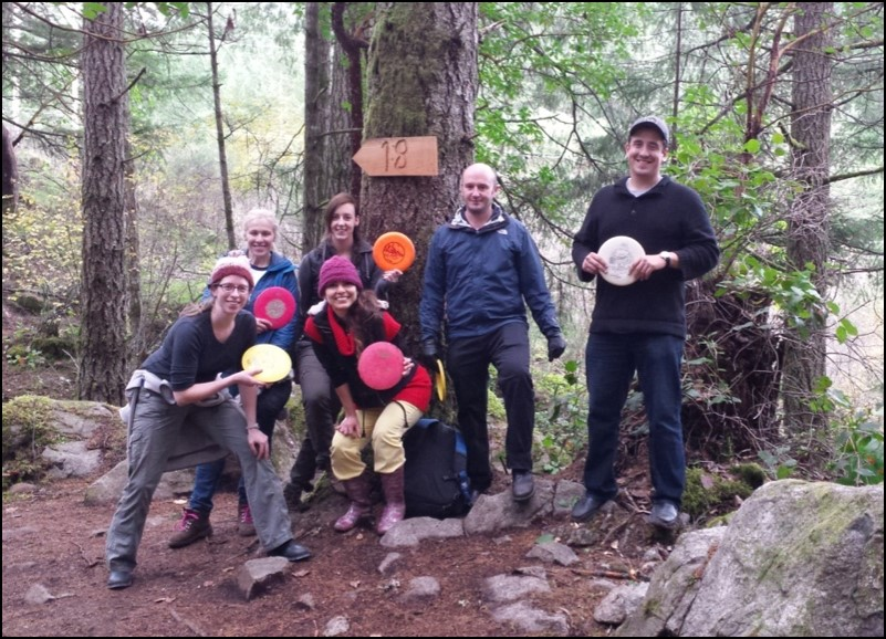 Cameron Lab on Lab Adventure Day in Fall 2015