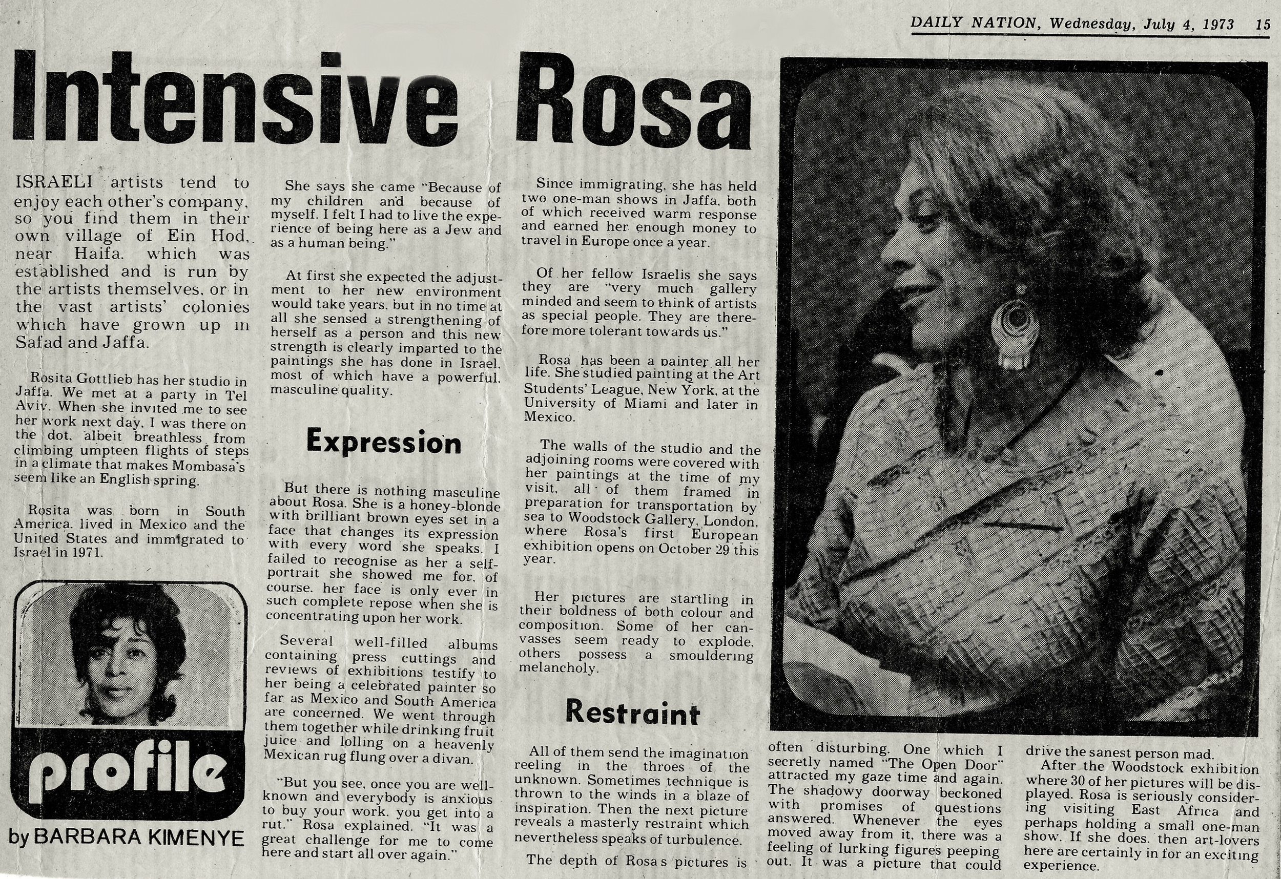 Nairobi Daily Nation - 1973