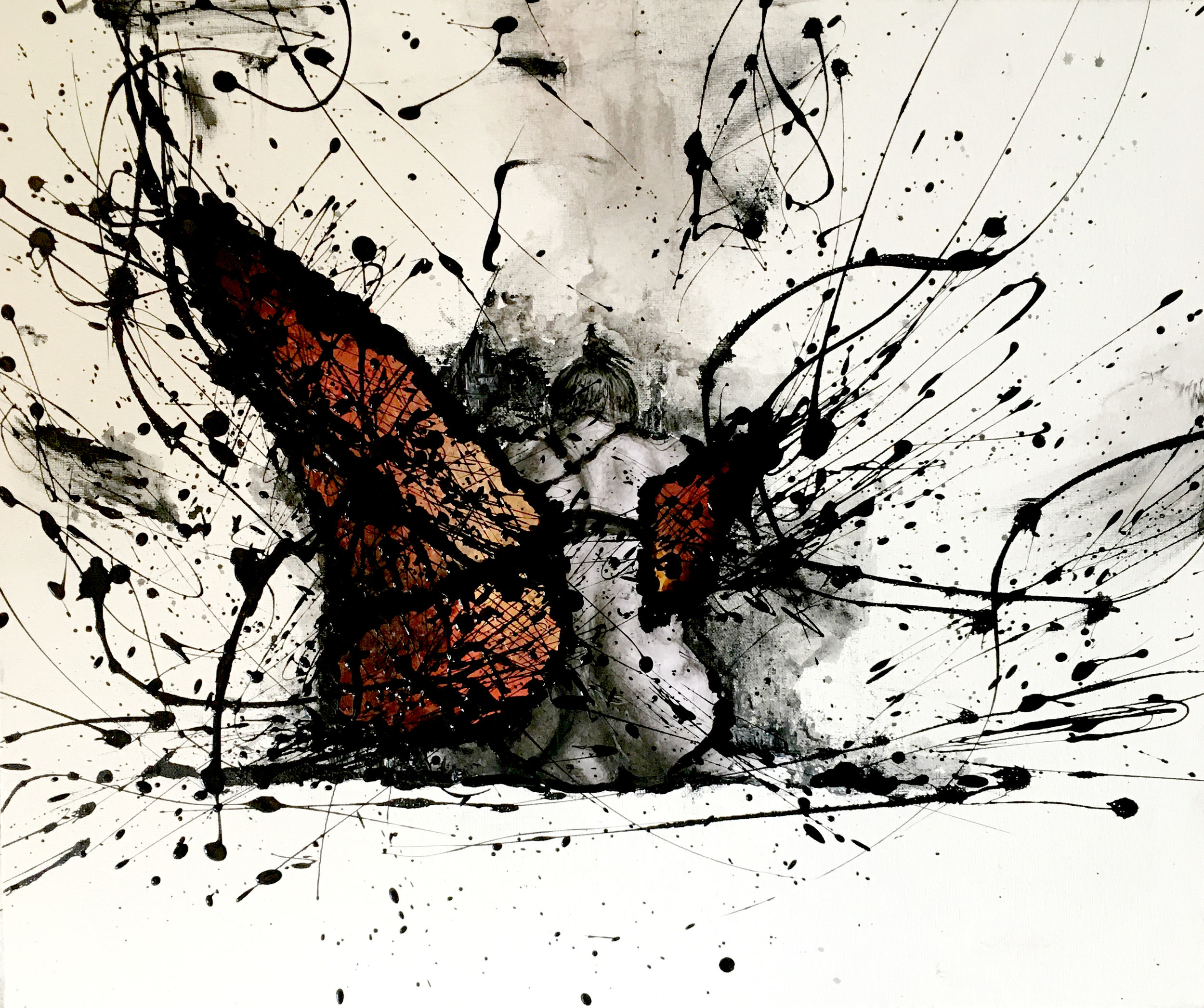"""""""Growing Pains"""", SOLD"""