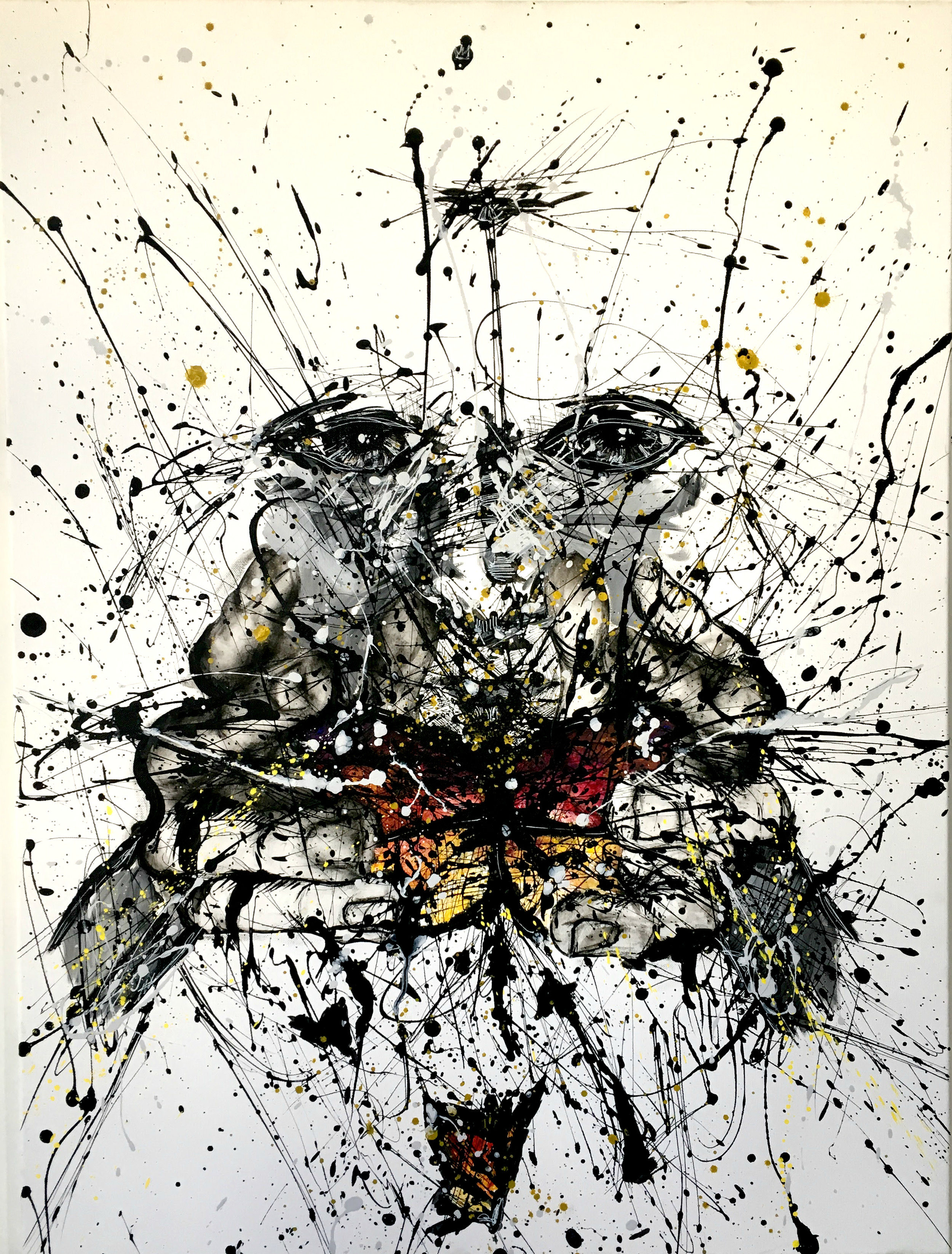 """""""Harnessed Chaos"""", SOLD"""