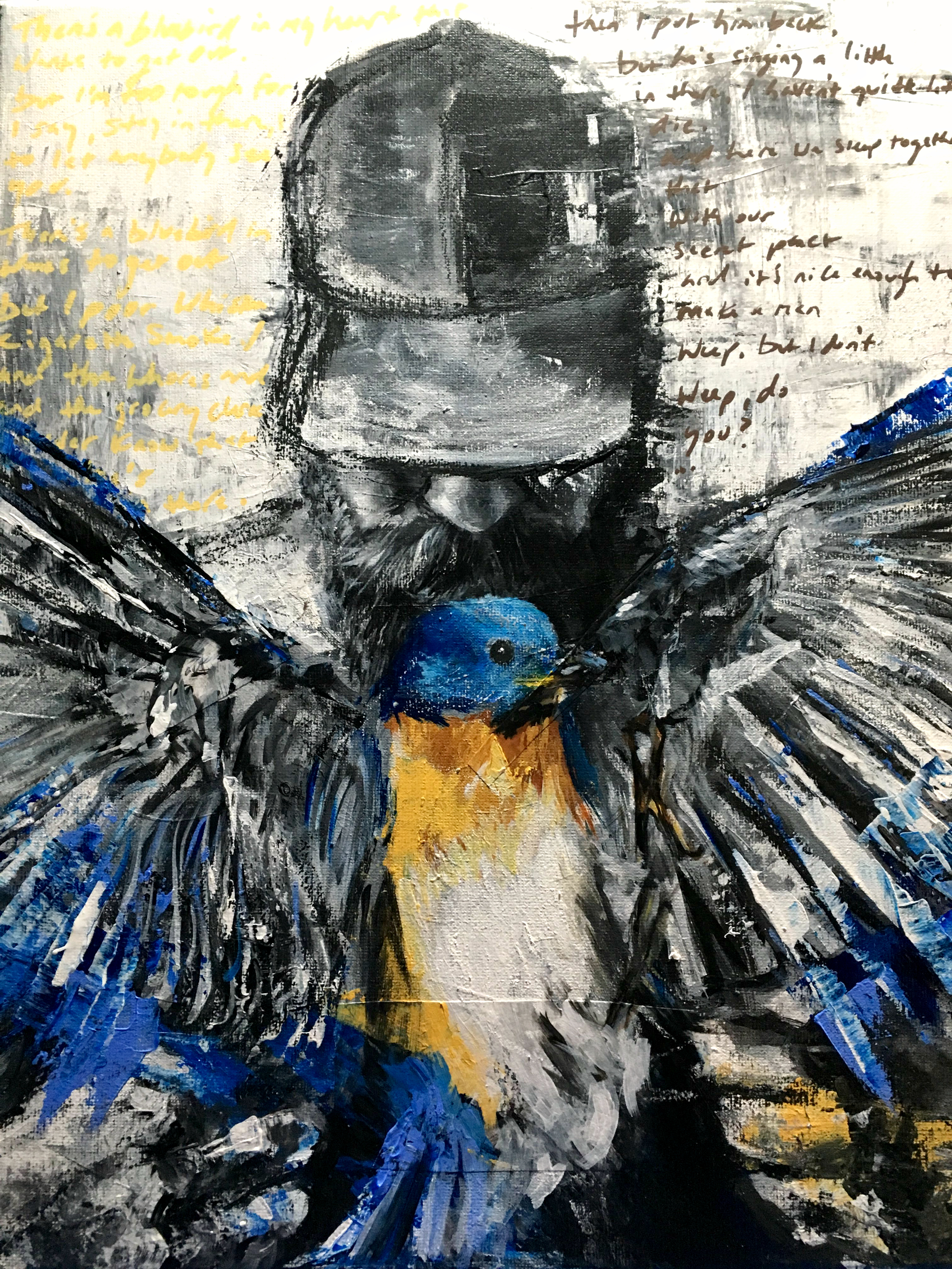 """""""Bluebird #3"""", SOLD"""